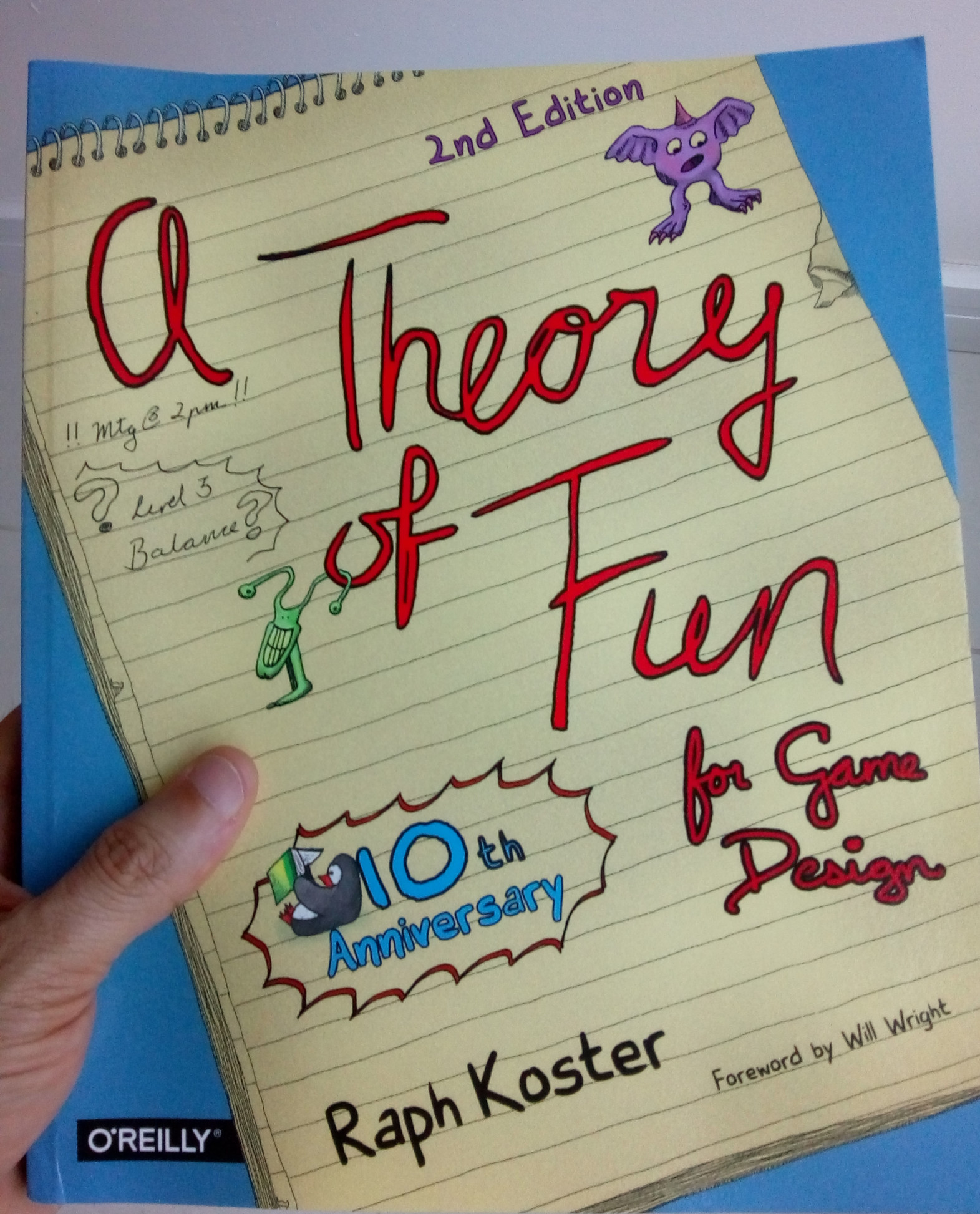 Book 'A Theory of Fun for Game Design', by Raph Koster.